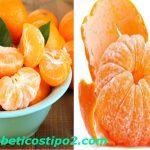 Mandarina para combatir la diabetes y obesidad