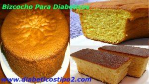 Bizcocho para diabeticos delicioso y fácil de prepararTodo diabetico se priva de muchas cosas que antes podía comer pero que con el tiempo afectaron nuestra