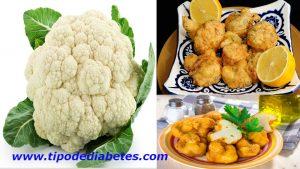 Coliflor rebozada para personas con diabetes – Receta completaEsta receta es un lujo y delicia, la coliflor rebozada nace a partir de la necesidad por varia