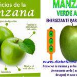 Manzana verde para controlar la glucosa