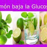 El limón ayuda a reducir el azúcar en la sangre