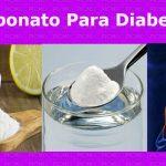 Bicarbonato de sodio para la diabetes tipo 2