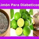 Chia y limón para diabeticos tipo 2