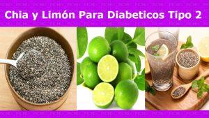 ¿Por qué un diabético debe consumir chia y limon?Además de refresco, se trata de una bebida capaz de limpiar el organismo, entregando numerosos antioxidante