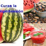 Semillas de sandia para bajar la hipertensión