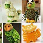 Figuras con verduras para diabeticos