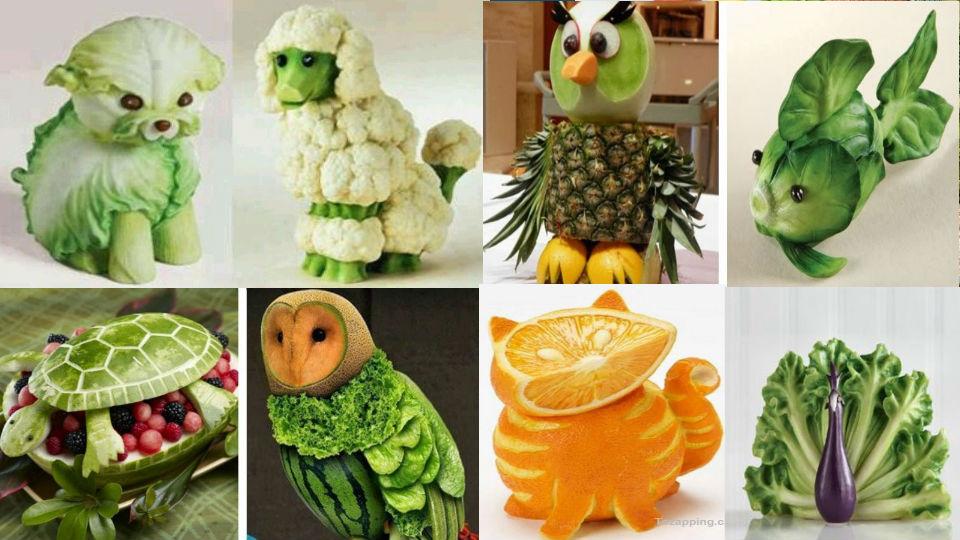 ¿Qué figuras con verduras son para personas con diabetes?Las verduras que usaremos nutritivas y saludables al igual que las frutas diuréticas para diabético