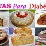 Tortas sin azúcar para diabeticos