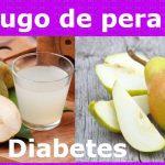 Jugo de pera, Controla la diabetes, gastritis, úlceras, Hígado graso