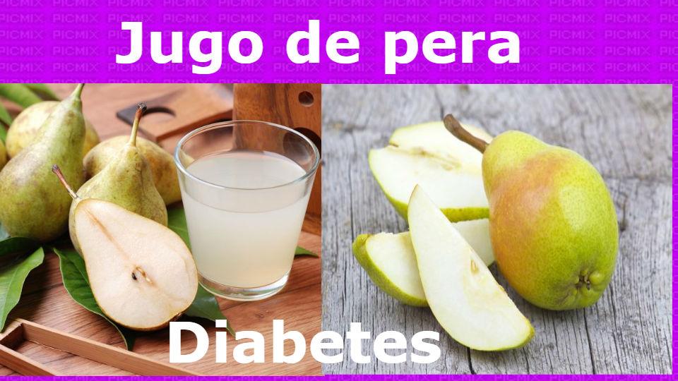 Jugo de pera para las enfermedades y la diabetes La pera es un alimento del cual las amas de casa, deportistas, trabadores, pacientes, etc.
