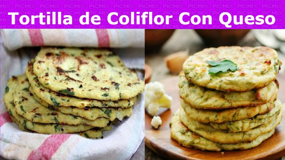 ¿Cuál es la mejor receta de Tortilla de coliflor con queso?Esta receta de tortilla de coliflor con queso es una delicia y contiene muchas propiedades