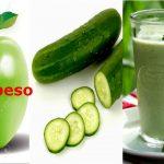 Sobrepeso  -Jugo verde quema grasa y calorias