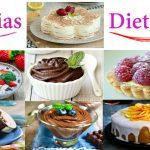 Preparación de dulces para diabéticos
