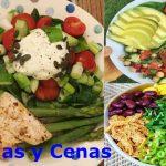 Comidas y cenas para diabéticos e hipertensos