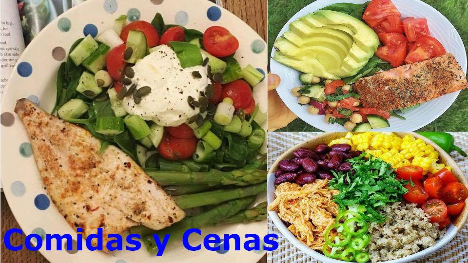 Comidas y cenas para personas con diabetes e hipertensión Las comidas y cenas son nuestra principal preocupación cuando se tiene diabetes e hipertensión.