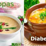 Sopas y caldos para diabeticos