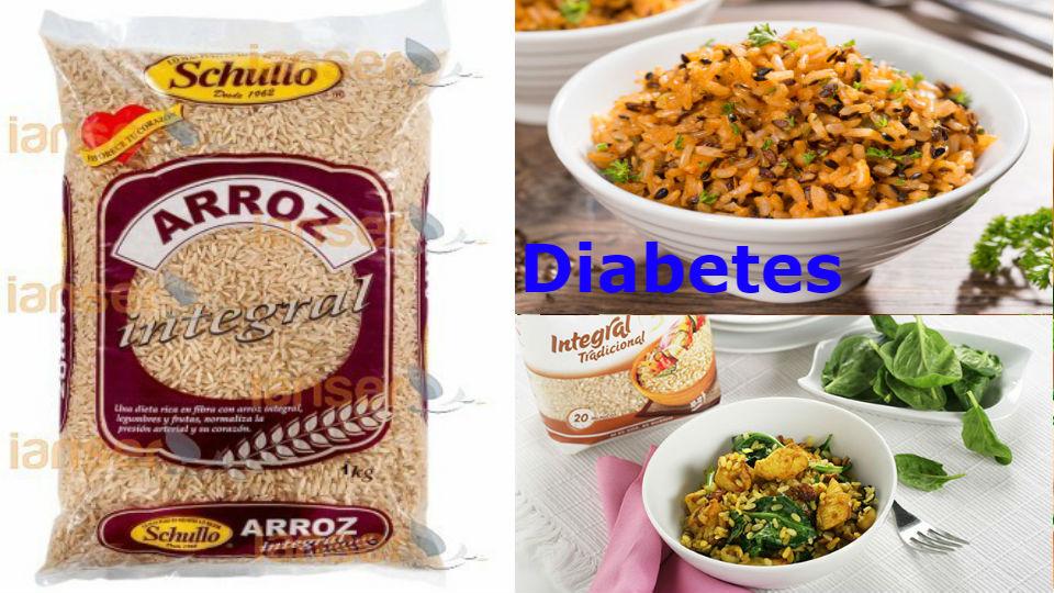 Arroz integral un gran alimento para la diabetes El arroz integral es un alimento que tiene propiedades completas y de gran digestión.