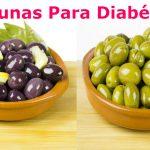 Aceituna una fuente de omega para diabeticos