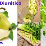 Batido de pera, manzana verde y apio Para el Páncreas