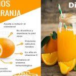 Naranja en ayunas para diabeticos