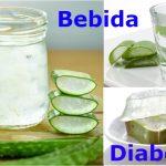 Bebida de aloe vera para la diabetes