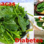 Ensalada de espinacas para diabéticos