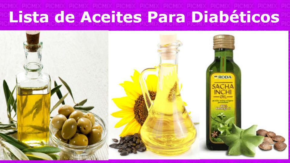 Aceites naturales para diabéticosLos aceites naturales son esenciales para los diabéticos y muy nutritivos aportando grandes cantidades de minerales y