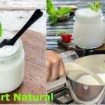 Yogurt natural casero para diabéticos