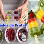 Helados de frutas para diabéticos