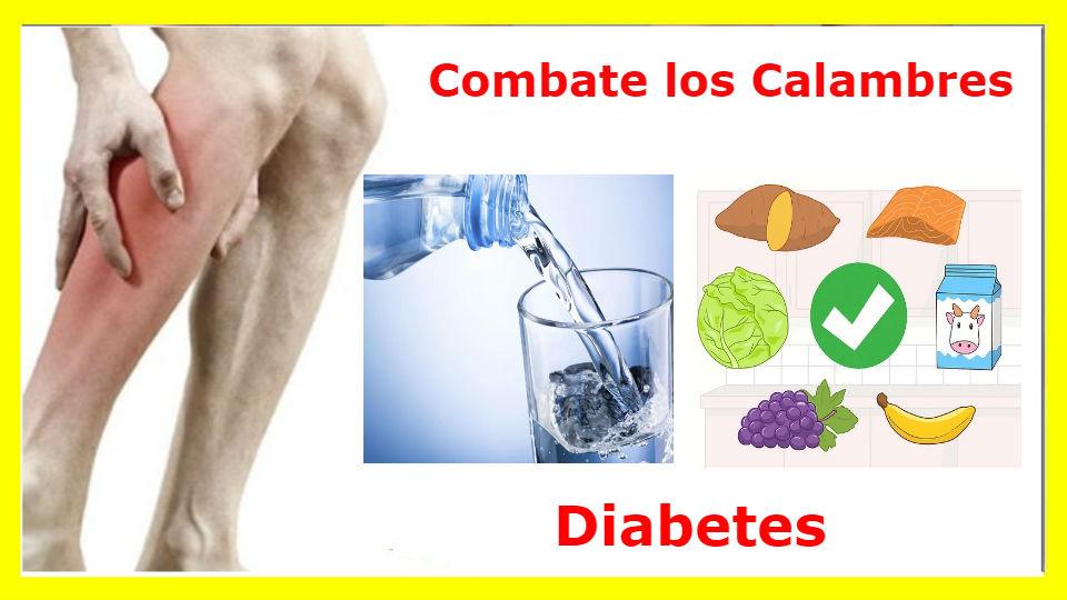 ¿Cuáles son las causas de los calambres en diabéticos?En muchos casos de pacientes con diabetes se determinó que los calambres continuos se debían a la falt