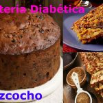 Bizcocho de frutos secos para personas con diabetes
