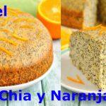 Pastel de chía y naranja para diabéticos ✅