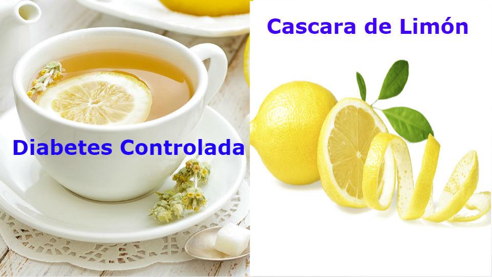 ¿Propiedades beneficios de las infusiones de cascara de limón?Esta preparación de cascaras de limón es completamente sano y apto para personas con diabetes