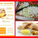 Sopa de jengibre con verduras para diabeticos