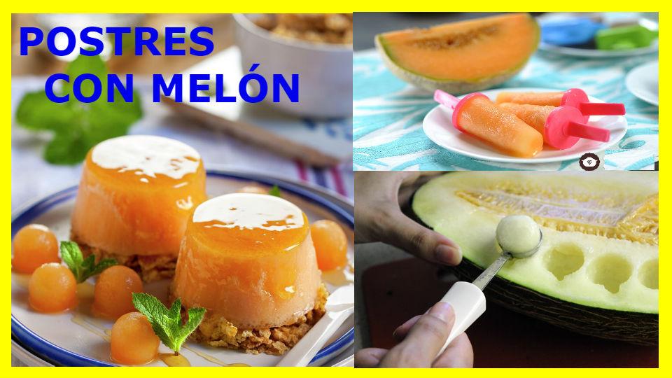 Postres con melón Esta deliciosa fruta puede asustar a más de un diabético por su sabor dulce. Sin embargo, al igual que todo lo que consumimos, es posible