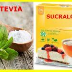 Edulcorantes recomendados por nutricionistas