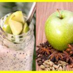 Postres de Manzana verde y Chía Para Diabéticos