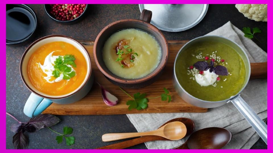 4 sopas detox que no puedes dejar de probar Dentro de las últimas tendencias de alimentación saludable se han popularizado el uso de recetas