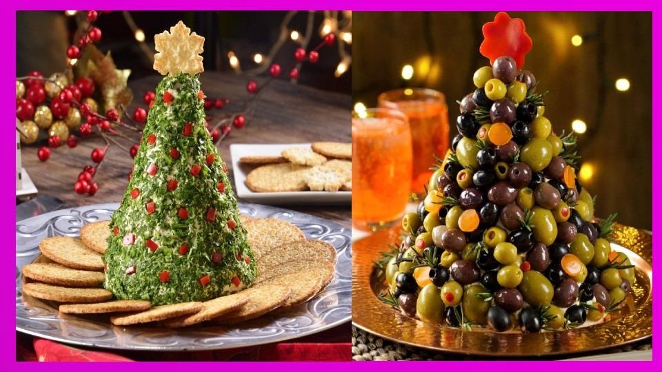 Recta para navidad: Árbol navideño de harina con pesto de espinacas En la actualidad existen muchas recetas saludables para que las personas con diabetes